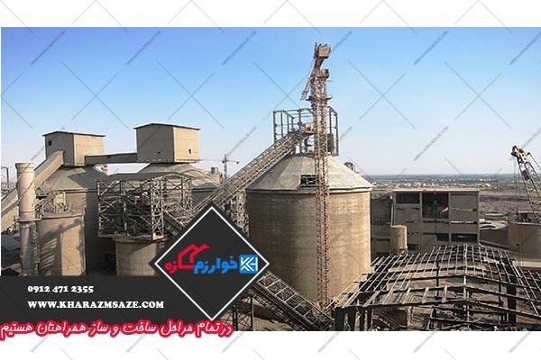 قیمت سیمان تهران درب کارخانه